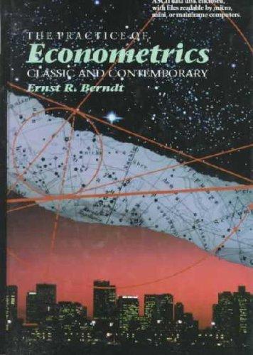 9780201176285: The Practice of Econometrics