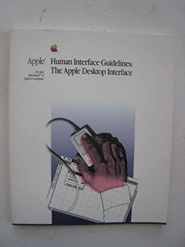 9780201177534: Apple Human Interface Guidelines: The Apple Desktop Interface
