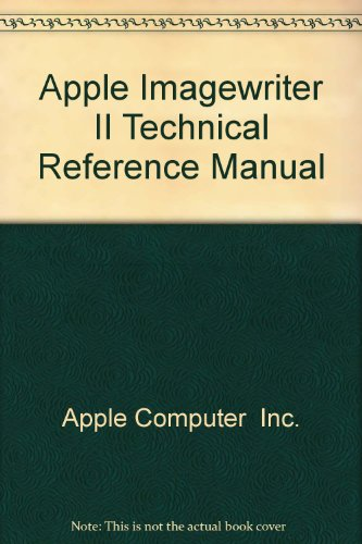 9780201177664: Apple Imagewriter II Technical Reference Manual