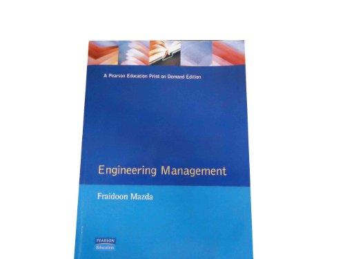 9780201177985: Engineering Management
