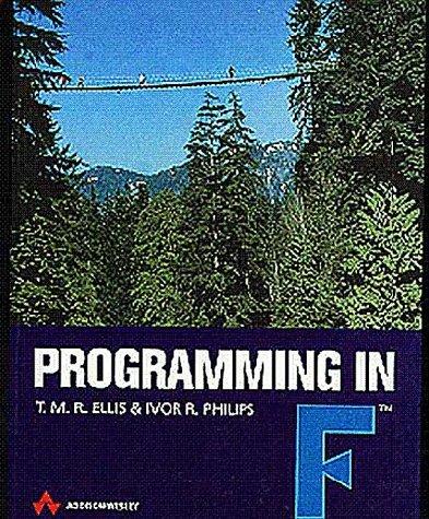 9780201179910: Programming in F