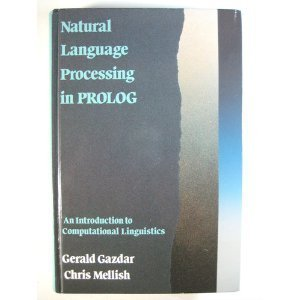 9780201180534: Natural Language Processing in PROLOG: An Introduction to Computational Linguistics