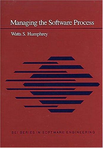 9780201180954: Managing the Software Process (SEI)