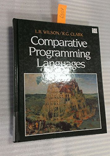 Comparative Programming Languages: Robert G. Clark;