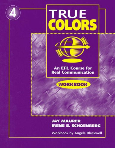 9780201186581: Workbook for True Colors: An EFL Course for Real Communication, Level 4