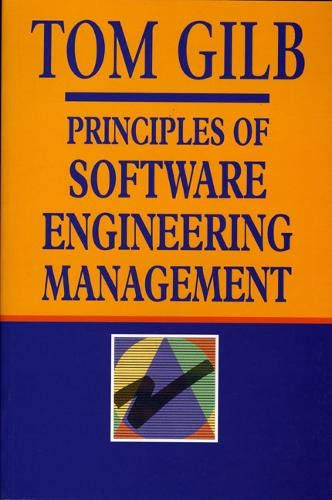 Principles Of Software Engineering Management: Gilb, Tom