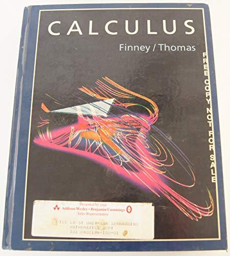 9780201193435: Calculus