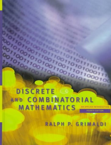 9780201199123: Discrete and Combinatorial Mathematics: An Applied Introduction