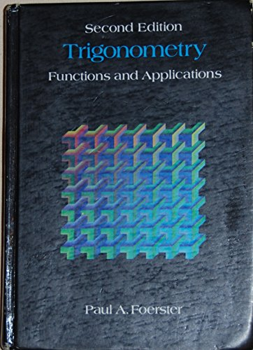 9780201202373: Trigonometry: Functions and Applications
