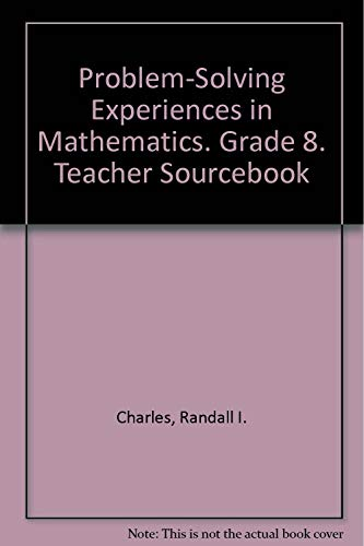 9780201202984: Problem Solving Experiences in Mathematics: Grade 8