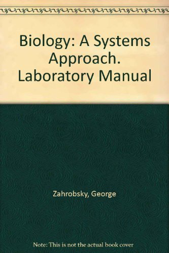 9780201221312: Biology: A Systems Approach, Laboratory Manual, Teacher's Edition