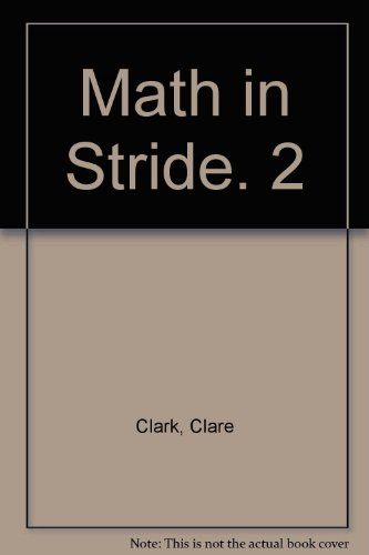 Math in Stride. 2: Clare Clark, Betsy