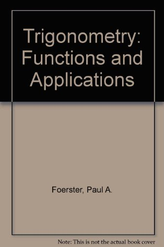 9780201251098: Trigonometry: Functions and Applications