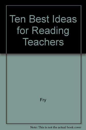 9780201251418: Ten Best Ideas for Reading Teachers