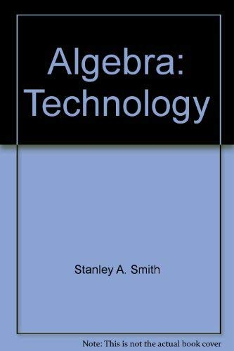 9780201253573: Algebra: Technology