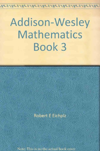 9780201263022: Addison-Wesley Mathematics Book 3