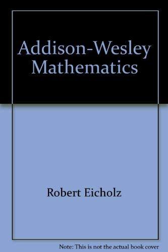 9780201267006: Addison-Wesley Mathematics