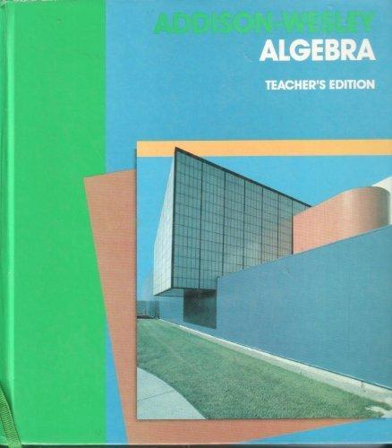 9780201285413: Addison-Wesley Algebra