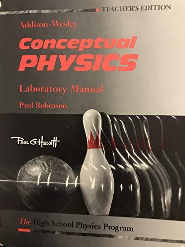 9780201286533: Conceptual Physics Laboratory Manual