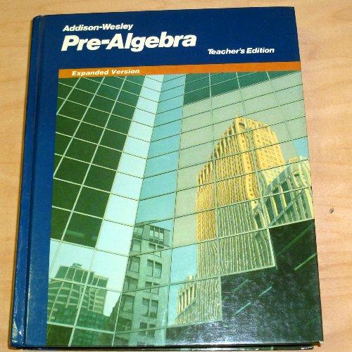 9780201297362: Addison-Wesley pre-algebra
