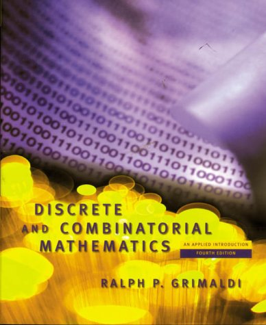 9780201304244: Discrete and Combinatorial Mathematics: An Applied Introduction (World Student)
