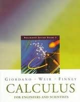9780201307993: 2: Calculus for Engineers and Scientists