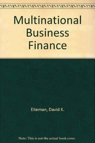 9780201309348: Multinational Business Finance