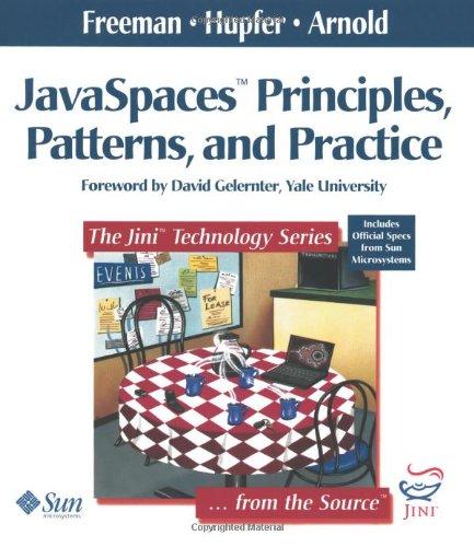 9780201309553: Javaspaces: Principles, Patterns, and Practice