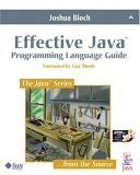 9780201310054: Effective Java: Programming Language Guide (Java Series)