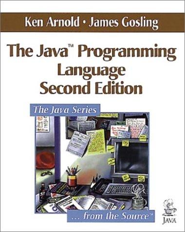 9780201310061: The Java Programming Language (Java Series)