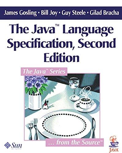 9780201310085: The Java Language Specification