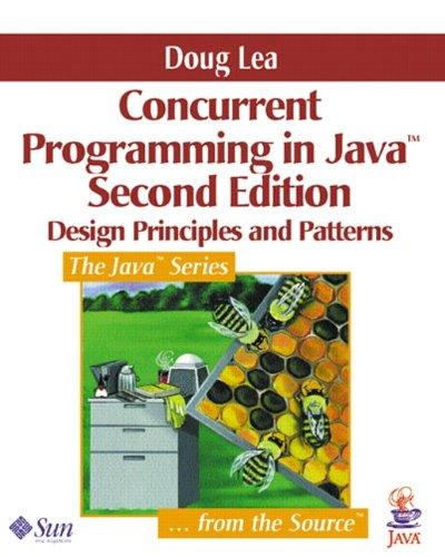 9780201310092: Concurrent Programming in Java: Design Principles and Pattern: Design Principles and Patterns