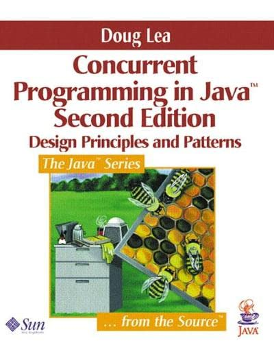 9780201310092: Concurrent Programming in Java™: Design Principles and Pattern, 2nd Edition