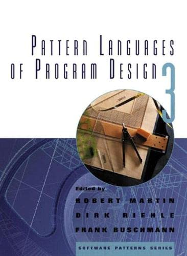 9780201310115: Pattern Languages of Program Design 3 (v. 3)