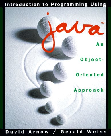 9780201311846: Introduction to Programming: Object-oriented Approach Using Java
