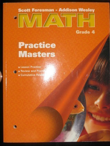 9780201312362: Practice Masters Grade 4 (Math)