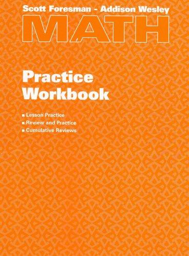 9780201312454: Scott Foresman – Addison Wesley Math Practice Workbook, Grade 4