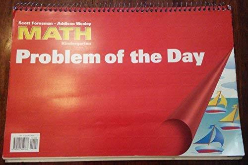 9780201312768: Scott Foresman - Addison Wesley Math Kindergarten PROBLEM OF THE DAY