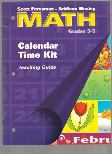 9780201313338: SFAW MATH GRADE 3 CALENDAR TIME KIT