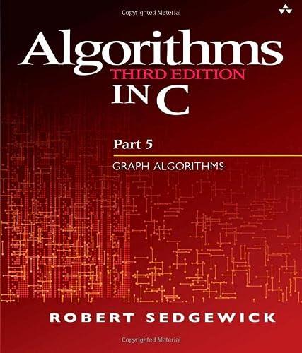 9780201316636: Algorithms in C, Part 5: Graph Algorithms: Graph Algorithms Pt.5