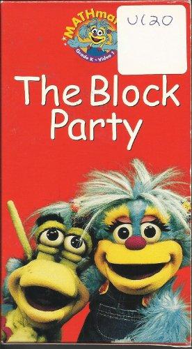 9780201317503: Mathmatazz Grade K Video 1: The Block Party [VHS]