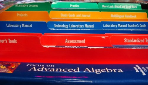 9780201320831: Algebra-(Focus on Advanced Algebra) (Teachers Resource Pack)with Cd-rom (Complete with textbook, workbooks, transparency masters and much more.)