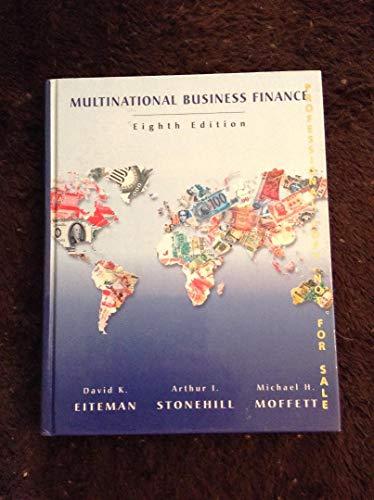 9780201322606: Multinational Business Finance