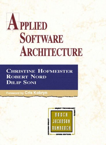 9780201325713: Applied Software Architecture