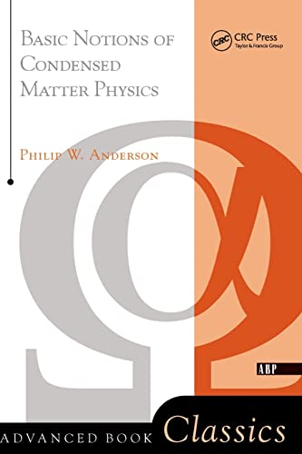 9780201328301: Basic Notions Of Condensed Matter Physics (Advanced Books Classics)