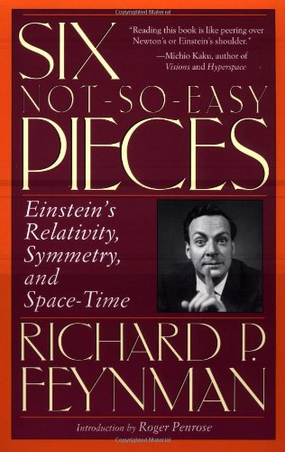 9780201328424: Six Not-So-Easy Pieces: Einstein's Relativity, Symmetry and Space-Time (Helix Books)