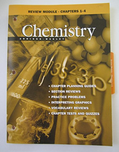 9780201334463: Review Module - Chapters 1-4 (Chemistry)
