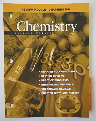 9780201334470: Review Module - Chapters 5-8 (Chemistry)