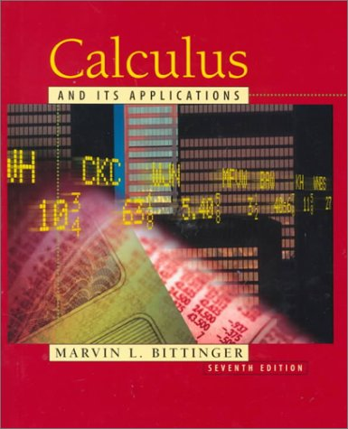 9780201338645: Calculus and Its Applications (7th Edition)