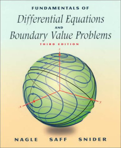 9780201338676: Fundamentals of Differential Equations and Boundary Value Problems (3rd Edition)